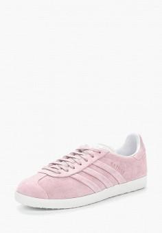 Кеды, adidas Originals, цвет: розовый. Артикул: AD093AWALPV6. Обувь / Кроссовки и кеды / Кеды / Низкие кеды