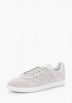 Кеды, adidas Originals, цвет: серый. Артикул: AD093AWALPV7. Обувь / Кроссовки и кеды / Кеды / Низкие кеды