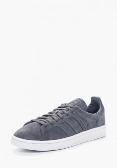 Кеды, adidas Originals, цвет: серый. Артикул: AD093AWALPV8. Обувь / Кроссовки и кеды / Кеды / Низкие кеды