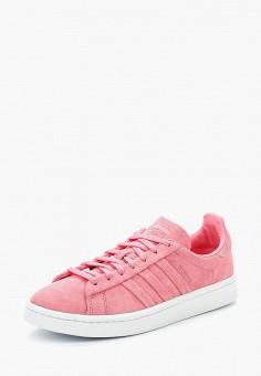 Кеды, adidas Originals, цвет: розовый. Артикул: AD093AWALPW5. Обувь / Кроссовки и кеды / Кеды / Низкие кеды