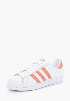Кеды, adidas Originals, цвет: белый. Артикул: AD093AWALPW9. Обувь / Кроссовки и кеды / Кеды / Низкие кеды