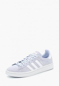 Кеды, adidas Originals, цвет: голубой. Артикул: AD093AWALPY3. Обувь / Кроссовки и кеды / Кеды / Низкие кеды