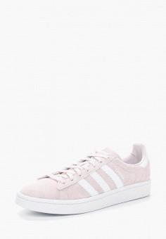 Кеды, adidas Originals, цвет: розовый. Артикул: AD093AWALPY4. Обувь / Кроссовки и кеды / Кеды / Низкие кеды