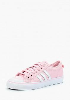 Кеды, adidas Originals, цвет: розовый. Артикул: AD093AWALPY9. Обувь / Кроссовки и кеды / Кеды / Низкие кеды