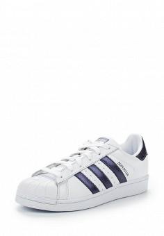 Кеды, adidas Originals, цвет: белый. Артикул: AD093AWALQA1. Обувь / Кроссовки и кеды / Кеды / Низкие кеды