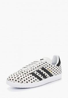 Кеды, adidas Originals, цвет: белый. Артикул: AD093AWALQB6. Обувь / Кроссовки и кеды / Кеды / Низкие кеды