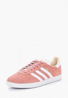 Кеды, adidas Originals, цвет: розовый. Артикул: AD093AWALQB7. Обувь / Кроссовки и кеды / Кеды / Низкие кеды