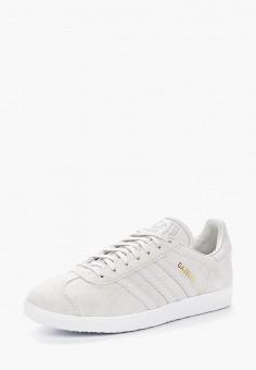 Кеды, adidas Originals, цвет: серый. Артикул: AD093AWALQB9. Обувь / Кроссовки и кеды / Кеды / Низкие кеды