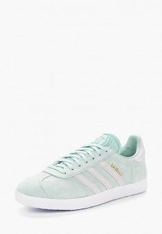 Кеды, adidas Originals, цвет: бирюзовый. Артикул: AD093AWALQC0. Обувь / Кроссовки и кеды / Кеды / Низкие кеды