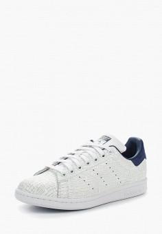 Кеды, adidas Originals, цвет: белый. Артикул: AD093AWALQD6. Обувь / Кроссовки и кеды / Кеды / Низкие кеды