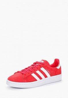 Кеды, adidas Originals, цвет: красный. Артикул: AD093AWALQE3. Обувь / Кроссовки и кеды / Кеды / Низкие кеды