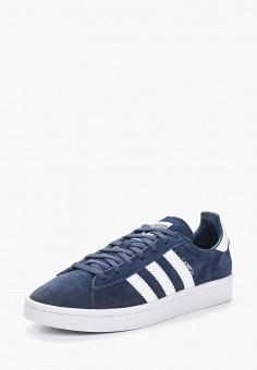 Кеды, adidas Originals, цвет: синий. Артикул: AD093AWALQE4. Обувь / Кроссовки и кеды / Кеды / Низкие кеды