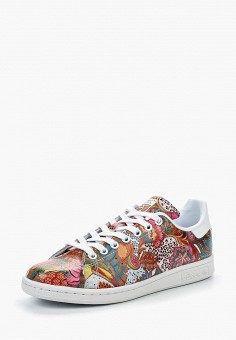 Кеды, adidas Originals, цвет: мультиколор. Артикул: AD093AWQIS74. Обувь / Кроссовки и кеды / Кеды / Низкие кеды