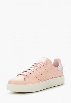 Кеды, adidas Originals, цвет: розовый. Артикул: AD093AWUNT55. Обувь / Кроссовки и кеды / Кеды / Низкие кеды