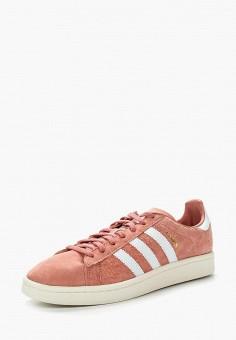 Кеды, adidas Originals, цвет: розовый. Артикул: AD093AWUNT75. Обувь / Кроссовки и кеды / Кеды / Низкие кеды