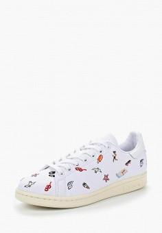 Кеды, adidas Originals, цвет: белый. Артикул: AD093AWUNT78. Обувь / Кроссовки и кеды / Кеды / Низкие кеды