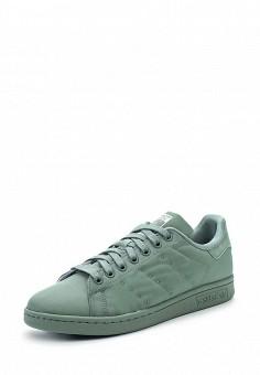 Кеды, adidas Originals, цвет: зеленый. Артикул: AD093AWUNT81. Обувь / Кроссовки и кеды / Кеды / Низкие кеды