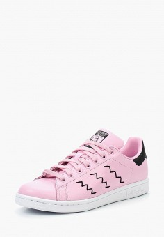 Кеды, adidas Originals, цвет: розовый. Артикул: AD093AWUNT90. Обувь / Кроссовки и кеды / Кеды / Низкие кеды