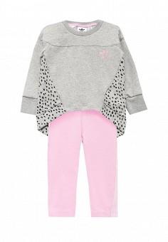 Костюм спортивный, adidas Originals, цвет  розовый, серый. Артикул   AD093EGUNI54. 5c92b6c056d