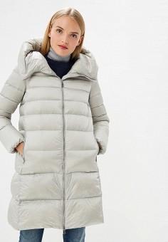Пуховик, Add, цвет: серый. Артикул: AD504EWCGOJ7. Одежда / Верхняя одежда / Зимние куртки