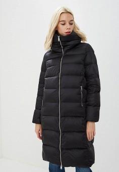 Пуховик, Add, цвет: черный. Артикул: AD504EWCGOK1. Одежда / Верхняя одежда / Зимние куртки