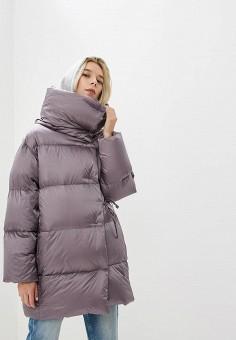 Пуховик, Add, цвет: серый. Артикул: AD504EWCGOL8. Одежда / Верхняя одежда / Зимние куртки