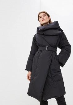 Пуховик, Add, цвет: черный. Артикул: AD504EWCGOM6. Одежда / Верхняя одежда / Зимние куртки
