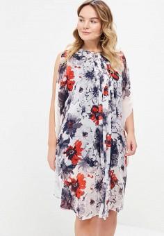 Платье, Aelite, цвет: серый. Артикул: AE004EWAXCA5. Одежда / Платья и сарафаны
