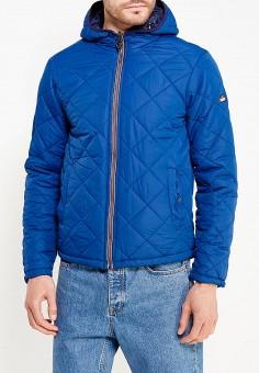 Куртка утепленная, Alcott, цвет: синий. Артикул: AL006EMVZV83. Одежда / Верхняя одежда / Пуховики и зимние куртки