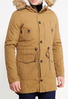 Парка, Alcott, цвет: коричневый. Артикул: AL006EMVZW00. Одежда / Верхняя одежда / Парки