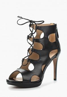 Босоножки, Alesya, цвет: черный. Артикул: AL048AWAMLO2. Обувь / Босоножки