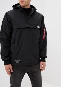 Куртка утепленная, Alpha Industries, цвет: черный. Артикул: AL507EMCCEI8. Одежда / Верхняя одежда / Демисезонные куртки