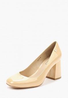 Туфли, Antonio Biaggi, цвет: бежевый. Артикул: AN003AWAEA54. Обувь / Туфли / Закрытые туфли