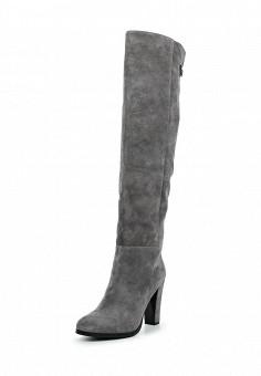 Ботфорты, Antonio Biaggi, цвет: серый. Артикул: AN003AWUZF36. Обувь / Сапоги
