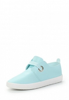 Кеды, Angelo Milano, цвет: голубой. Артикул: AN053AWAWKJ1. Обувь / Кроссовки и кеды / Кеды