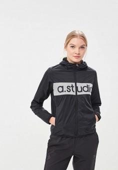 Ветровка, Anta, цвет: черный. Артикул: AN225EWAPGH6. Одежда / Верхняя одежда / Легкие куртки и ветровки