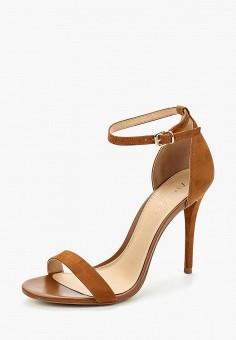 Босоножки, Arezzo, цвет: коричневый. Артикул: AR036AWATNC8. Обувь / Босоножки