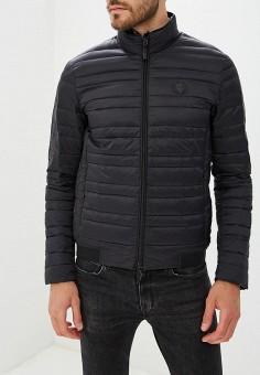 Пуховик, Armani Exchange, цвет: черный. Артикул: AR037EMBLDN7. Одежда / Верхняя одежда / Пуховики и зимние куртки