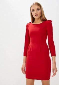 Платье, Armani Exchange, цвет: красный. Артикул: AR037EWBLFB6. Одежда / Платья и сарафаны