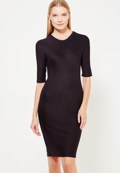 Платье, Armani Exchange, цвет: черный. Артикул: AR037EWTLE33. Одежда / Платья и сарафаны