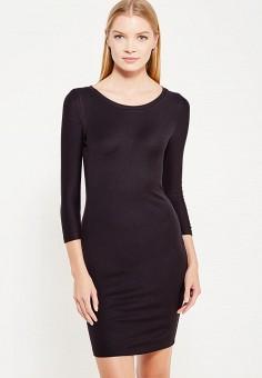 Платье, Armani Exchange, цвет: черный. Артикул: AR037EWTLE34. Premium / Одежда / Платья и сарафаны