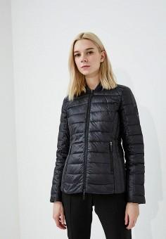Пуховик, Armani Exchange, цвет: черный. Артикул: AR037EWZSW71. Одежда / Верхняя одежда / Зимние куртки