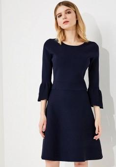 Платье, Armani Exchange, цвет: синий. Артикул: AR037EWZSZ46. Premium / Одежда / Платья и сарафаны