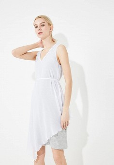 Платье, Armani Exchange, цвет: белый. Артикул: AR037EWZSZ52. Premium / Одежда / Платья и сарафаны