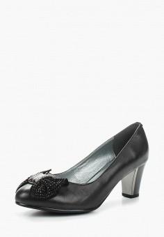 Туфли, Ascalini, цвет: черный. Артикул: AS006AWANJS8. Обувь / Туфли / Закрытые туфли