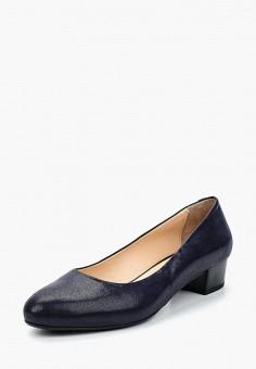 Туфли, Ascalini, цвет: синий. Артикул: AS006AWANJZ1. Обувь / Туфли / Закрытые туфли