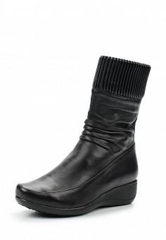 Полусапоги, Ascalini, цвет: черный. Артикул: AS006AWUYC28. Обувь / Сапоги