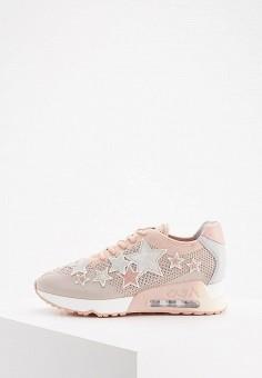 Кроссовки, Ash, цвет: розовый. Артикул: AS069AWAAJR2. Обувь / Кроссовки и кеды / Кроссовки