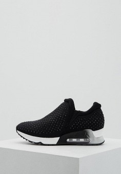 Кроссовки, Ash, цвет: черный. Артикул: AS069AWAOMR6. Обувь / Кроссовки и кеды / Кроссовки