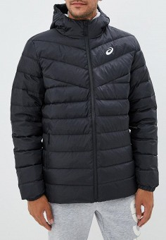 Пуховик, ASICS, цвет: черный. Артикул: AS455EMCHED4. Одежда / Верхняя одежда / Пуховики и зимние куртки
